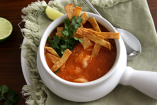 shrimp tortilla soup 3 | by crumblycookie