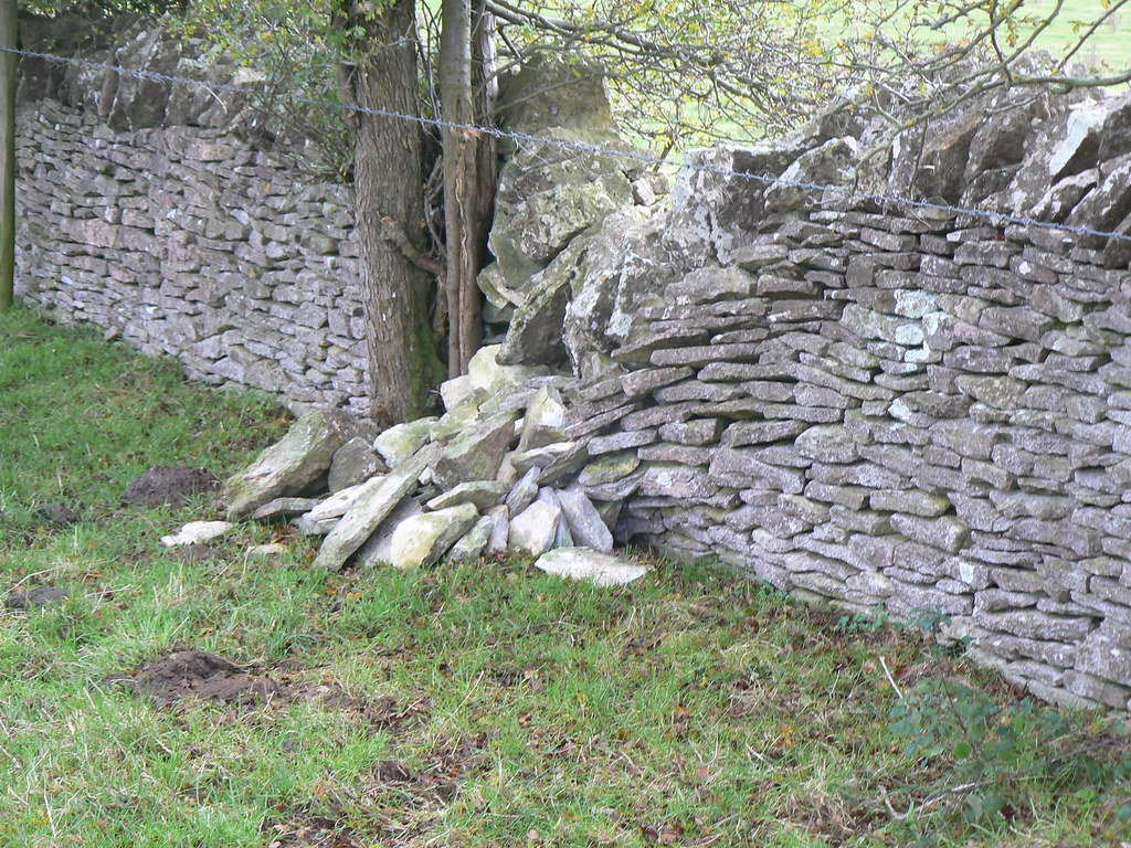 Broken stone Wall dougwoods Flickr