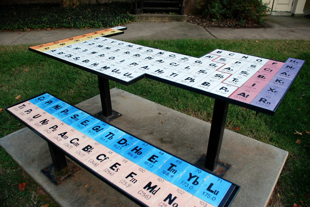 The Periodic Table 58 On Explore 111407 Near The Chemi Flickr