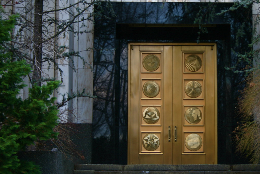 ... Washington D.C. Temple Doors | by SoLostAndFound / Bill Lindsay & Washington D.C. Temple Doors | Bill Lindsay | Flickr