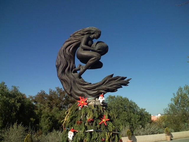 Saltillo Mexico Gaia Statue Saw This In Saltillo