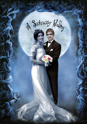 Corpse Bride Wedding | My husband and I done up Corpse ...
