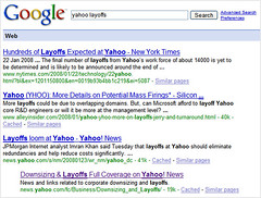Yahoo Layoffs On Google | by search-engine-land
