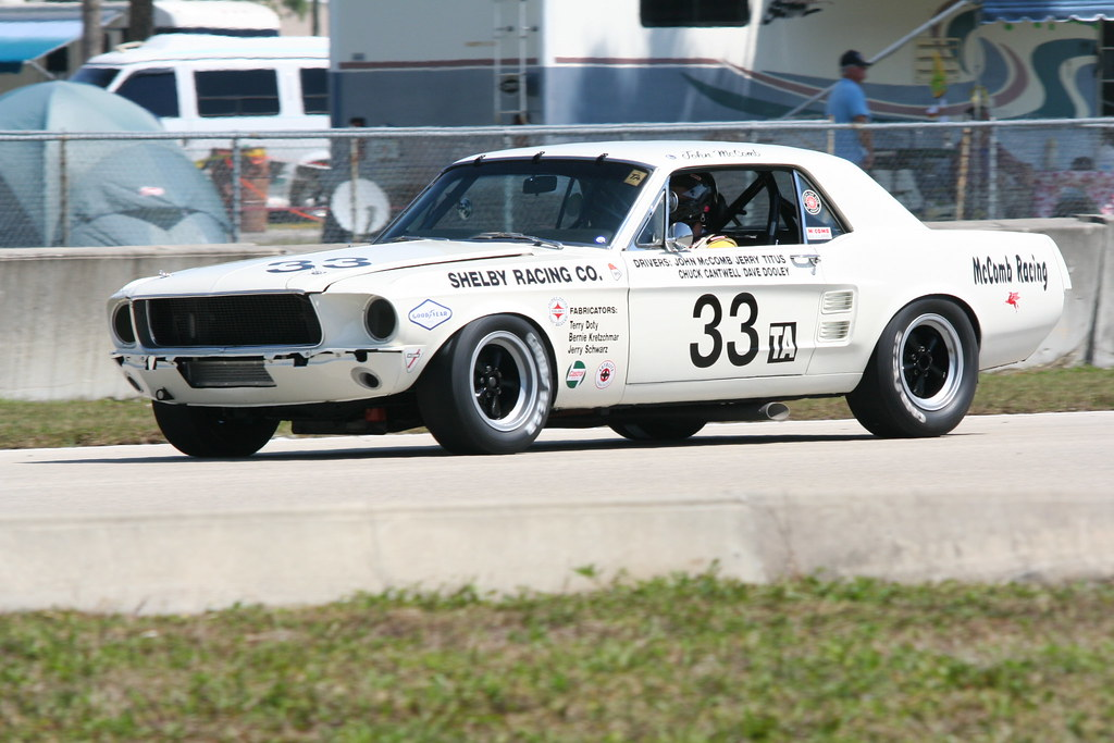 1967 Ford Shelby Mustang #33 Trans Am Series race car | Flickr