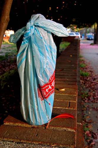 Sheetz Bag on Fence | by taberandrew
