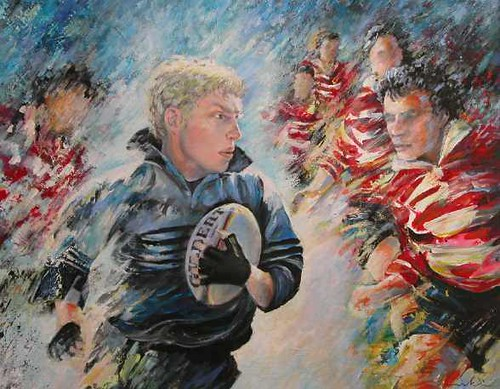Rugby Paintings For Sale