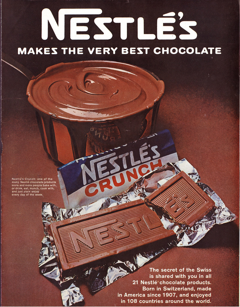 Nestle Makes The Very Best Chocolate