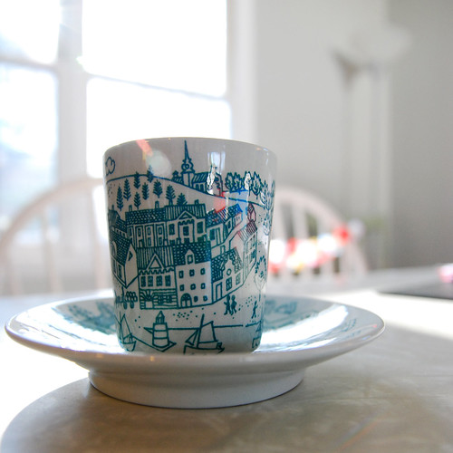 new wee cup and saucer | by branidebee
