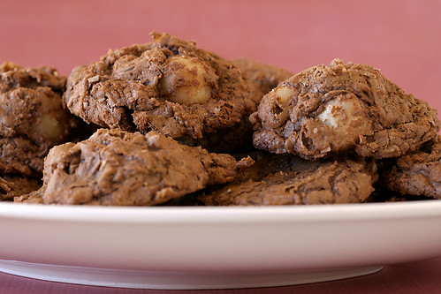 Chocolate-Macadamia Nut Clusters | by bakeorbreak