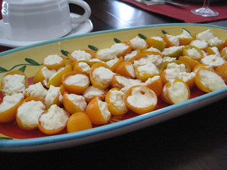 Cream cheese and ginger-stuffed kumquats | by infowidget