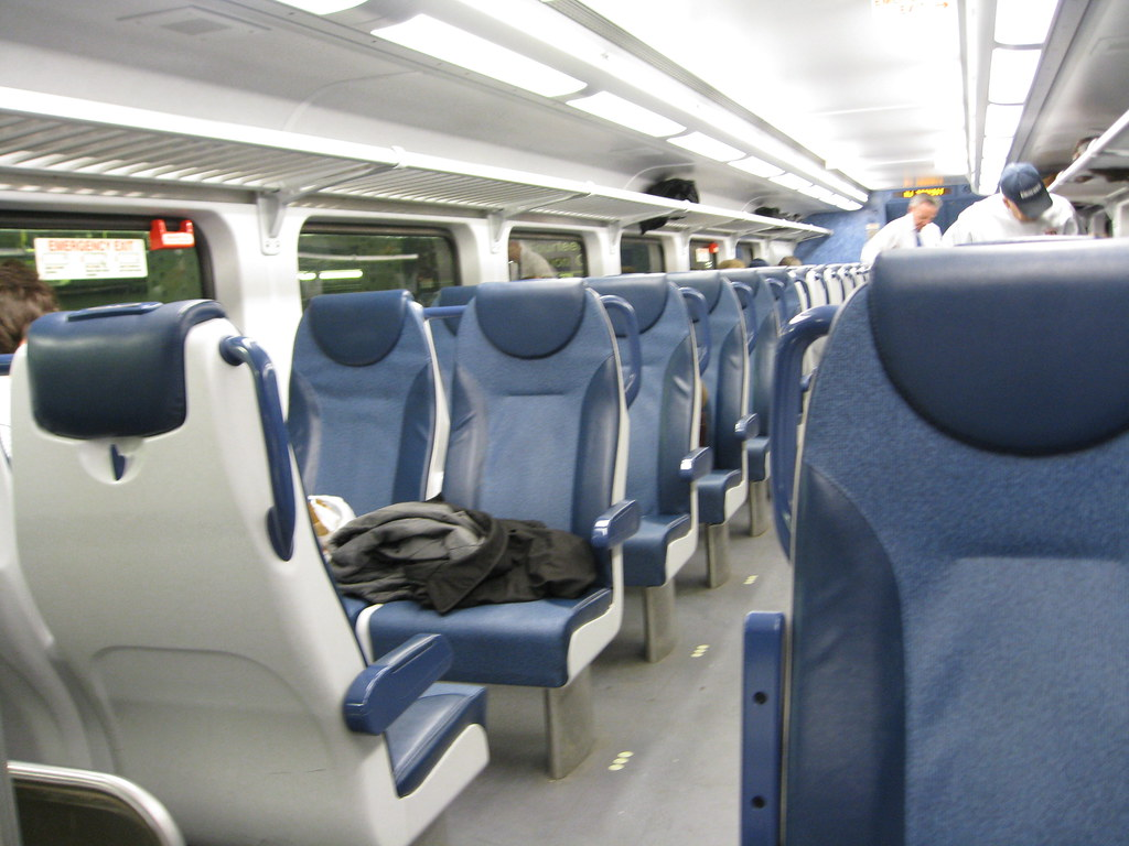 inside the new nj transit double decker train tom simpson flickr. Black Bedroom Furniture Sets. Home Design Ideas