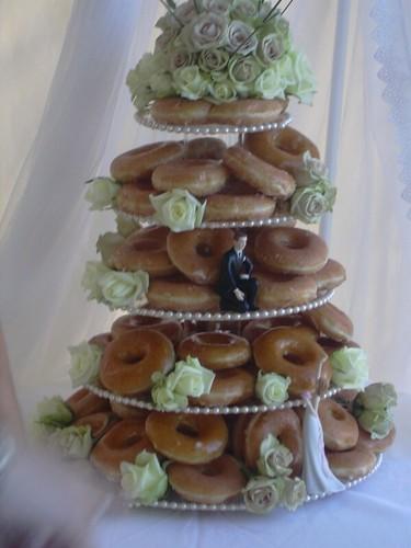 The Krispy Kreme Donut Wedding Cake Kathrynlinge Flickr