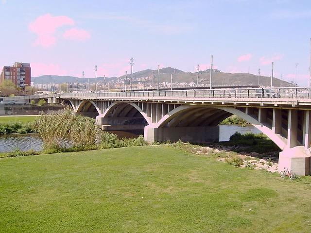 Santa coloma de gramenet 9 riu bes s i el pont vell for Cerrajeros santa coloma de gramenet