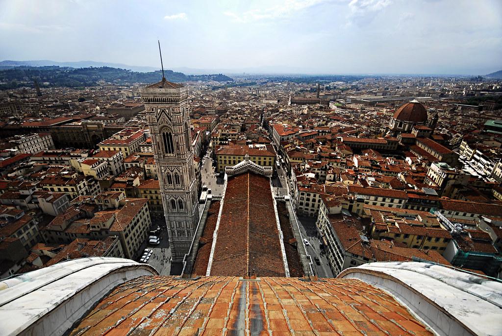 Italia Firenze Dsc24037 View Down Brunelleschi S Famous