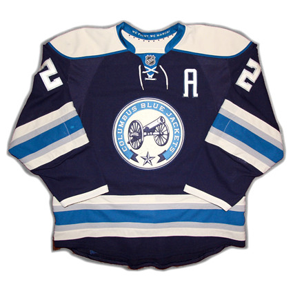 Columbus Blue Jackets 2011-12 F jersey