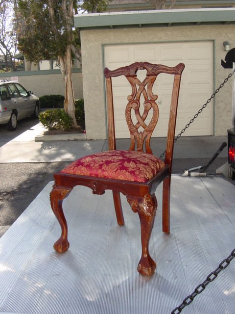 Chip N Dale Chair Before Finish 160 With Shabby Finish A Flickr