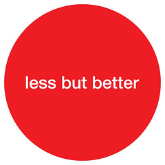 Less but better. Dieter Rams | by Marcos Dopico