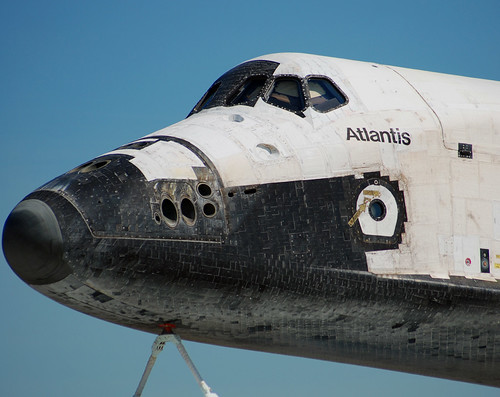 Rockwell Space Shuttle Atlantis Ov 104 The Nose Of The