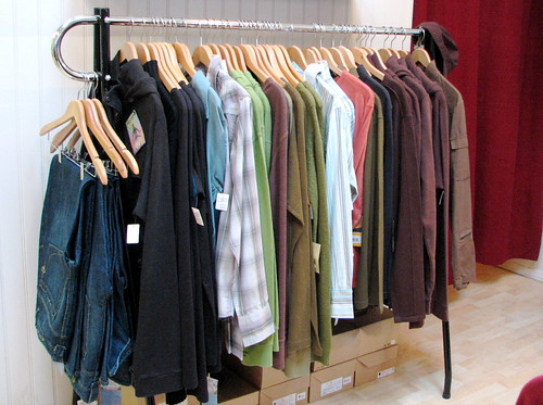 rack o' men's clothes | by Uncleweed