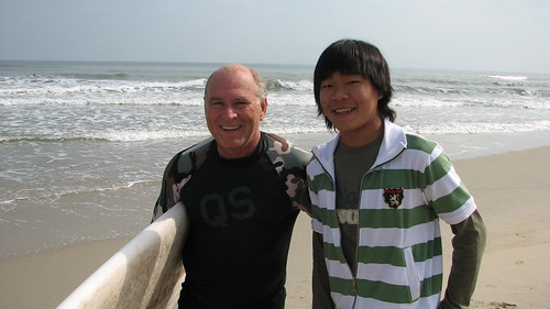 Jimmy Buffett and Tim at China Beach | by valockett
