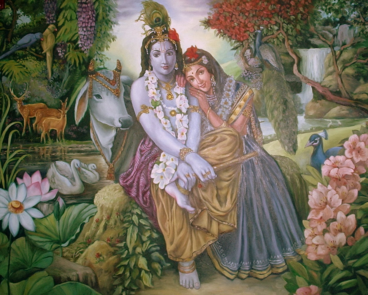 Radha Krishna by Balaji Photography via Flickr