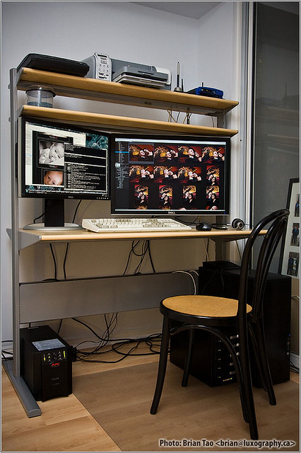 IKEA FREDRIK computer desk | This is my computer ...