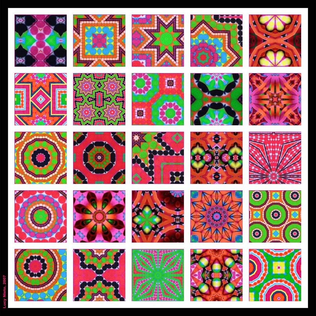 Mosaico bufanda de colores 2 mosaico de im genes generadas flickr - Mosaico de colores ...