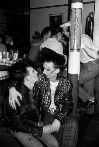 Boy George 1979 Boy George And Friend Clubbing The