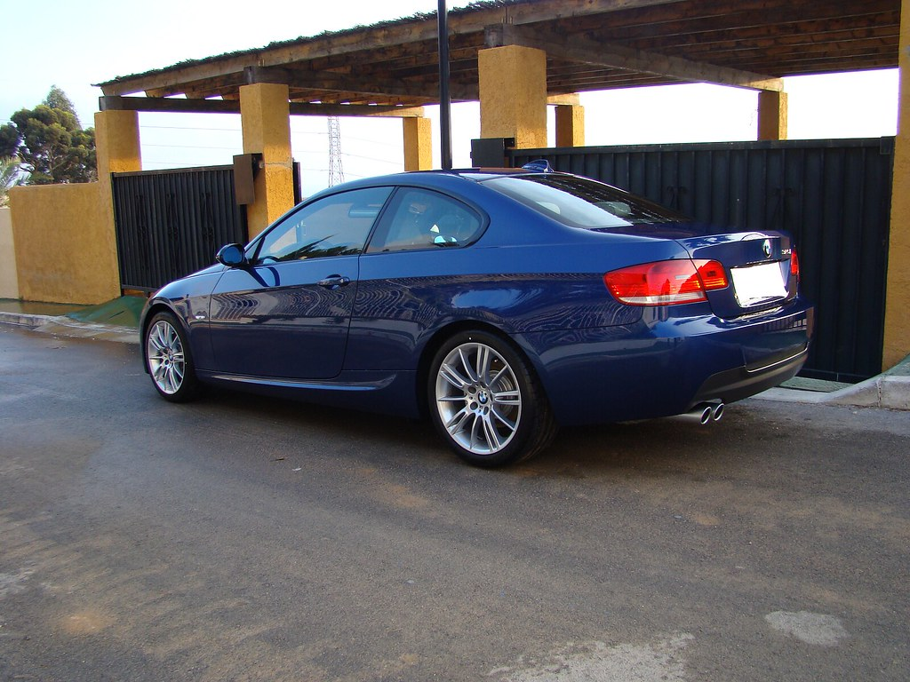 bmw 325i e92 pack m bmw 325i e92 azul le mans con cuero ja flickr. Black Bedroom Furniture Sets. Home Design Ideas