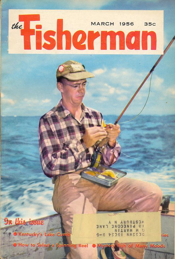 1956 the fisherman vintage fishing outdoorsman magazine for Free fishing magazines