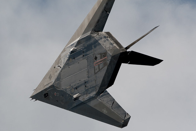 F117 Stealth Fighter | hardwiredindustries | Flickr