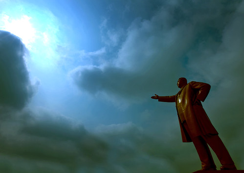 Kim Il Sung giant statue North Korea 북한 | by Eric Lafforgue