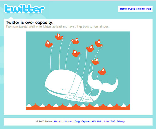 Twitter Over Capacity | by David Poe