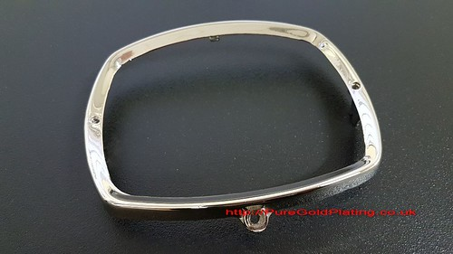 Nickel Plated Headlamp Rim | by PureGoldPlating