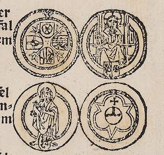 1482 book warns on Netherlandish counterfeit coins closeup