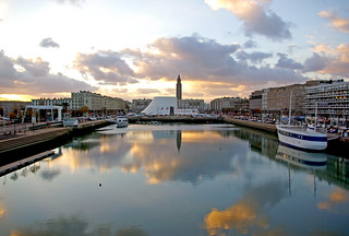 264 Beautiful reflections Le Havre in France | by Rolye