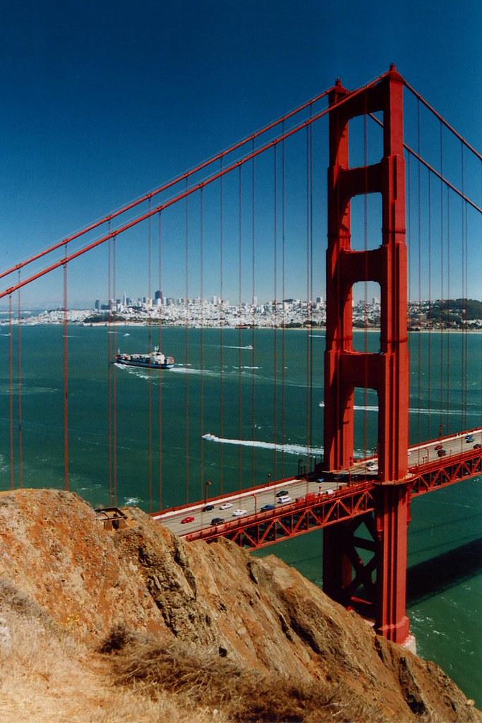 USA - California - San Francisco - Golden Gate Portrait ...