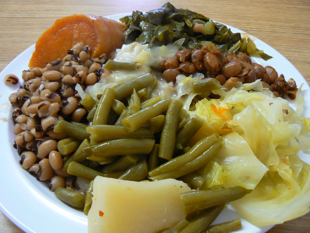 Vegetable Plate | Read our review of Mrs. White's Golden Rul ...