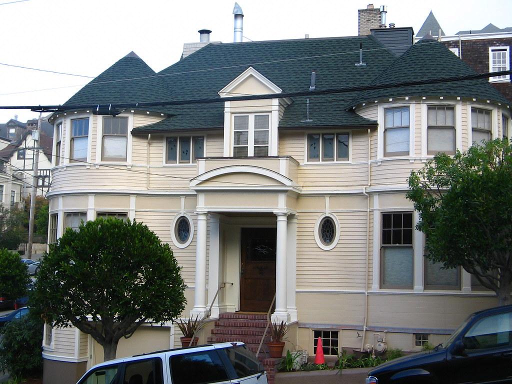 mrs doubtfire house in diesem haus wurde der hollywoodf. Black Bedroom Furniture Sets. Home Design Ideas