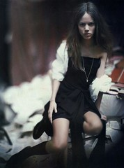 a woman of a singular charm - by paolo roversi - for vogue italia | by fashion.inspiration