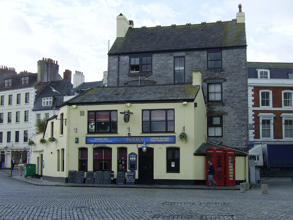 The Navy Inn Barbican Plymouth Richard And Gill Long