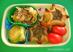 Frozen appetizer bento lunch for preschooler #2 | by Biggie*