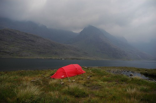 Camping on the shores of loch Coruisk | by Paul Sammonds
