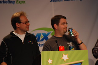 Matt Takes a Drink of his Sprite at SMX Search Bowl | by storyspinn