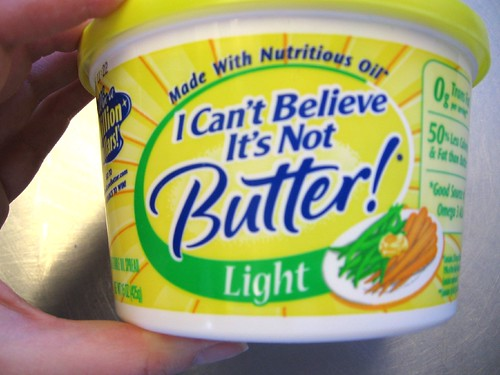 I Can't Believe It's Not Butter Light label | by ilovebutter