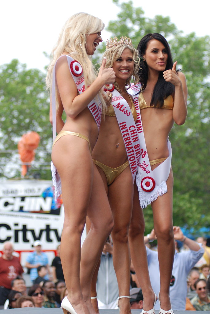 Miss chin bikini pictures pantyhose
