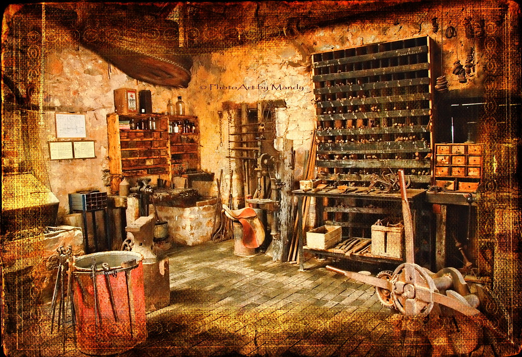 The Old Workshop A Beautifully Preserved Blacksmith