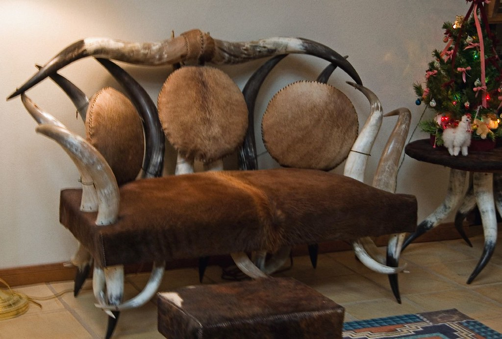 Captivating ... Longhorn Chair And Table | By Big Grey Mare