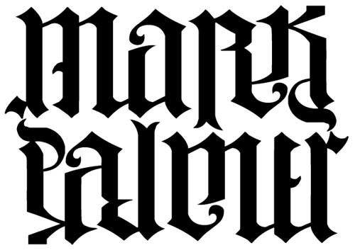 MARK PALMER AMBIGRAM