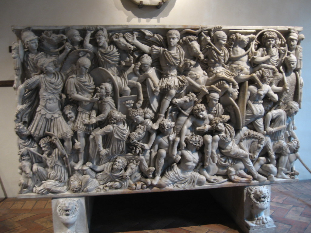 battle of romans and barbarians ludovisi sarcophagus Posts about ludovisi battle sarcophagus written by jrbenjamin  there's always  a reason to invade: joseph schumpeter on roman.